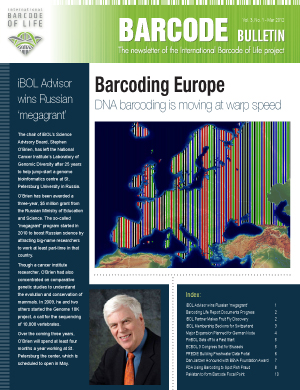 Barcode Bulletin - March 2012